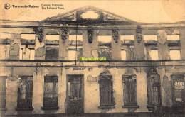 CPA DENDERMONDE TERMONDE  RUINES BANQUE NATIONALE - Dendermonde