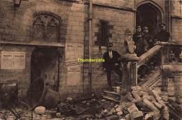 CPA DENDERMONDE TERMONDE  CAJU BEECKMAN RUINES GUERRE 1914 1918 - Dendermonde