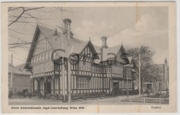Austria - Wien - 1910 - Erste Internationale Jagd Ausstellung - England - Vienna