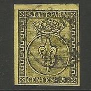 Italien. Wappen Von Parma, Nr. 1 A Gestempelt - Parma