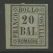 Italien. Ziffernzeichnung / Romagne, Nr. 9* Falz - Romagna