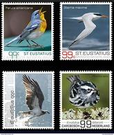 S 281 ++ CARIBISCH NEDERLAND ST. EUSTATIUS 2017 VOGELS BIRDS MNH POSTFRIS - Curaçao, Nederlandse Antillen, Aruba