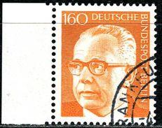 A10-25-7) Berlin - Michel 396 - OO Gestempelt (B) - 160Pf  Gustav Heinemann II - [5] Berlijn