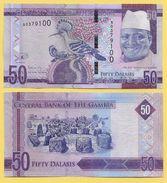 Gambia 50 Dalasis P-34 2015 UNC - Gambia