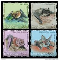 Moldova 2017 Mih. 1011/14 Fauna. Bats MNH ** - Moldova