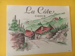 5559 - La Côte Suisse - Etiquettes