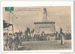 08 FLOING SEDAN INAUGURATION DU MONUMENT DES BRAVES GENS CPA BON ETAT - Sedan
