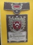 5560 - Chardonne La Championne 1972 Jacques Neyroud Suisse - Etiquettes