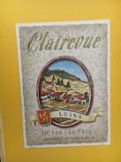 5563 - Clairevue Luins Suisse - Etiquettes