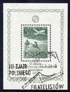 POLAND 1954 Philatelic Congress Block Used..  Michel Block 13 - Blocs & Hojas