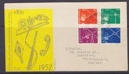 Switzerland 1952 Telecommunications 4v FDC (37038) - FDC