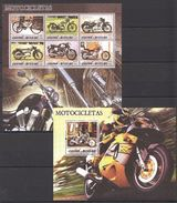 S60 2005 GUINE-BISSAU TRANSPORTATION MOTOCYCLES MOTOCICLETAS KB+BL MNH - Motorbikes
