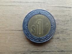 Mexique  1  Peso  2012  Km 603 - Mexique