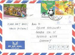 Malaysia 1998 Malacca World Youth Football Championship High Jump Cover - Maleisië (1964-...)