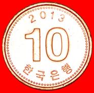 √ PAGODA: SOUTH KOREA ★ 10 WON 2013 MINT LUSTER! LOW START ★ NO RESERVE! - Korea, South