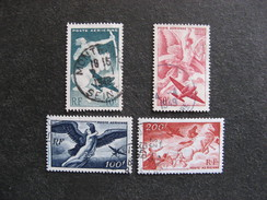 Série PA N° 16 Au N°19, Oblitérés. - Airmail
