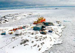 1 AK Antarctica Antarktis * Die Station Palmer Auf Anvers Island - US-amerikanische Forschungsstation * - Ansichtskarten