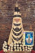 D31738 CARTE MAXIMUM CARD 1994 SLOVENIA - BLACK MADONNA SCULPTURE CP ORIGINAL - Scultura