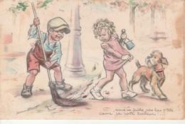 """Illustrateur Bouret-""""Vous En Faites Pas La P'tite Dame..""""MD Paris. - Bouret, Germaine"""