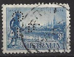 Australia 1934 (o) Perfin G.WP - Perfins