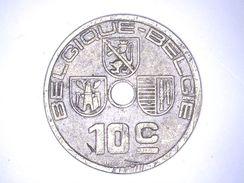 BELGIQUE : 10 CENTIMES 1938 - 02. 10 Centimes
