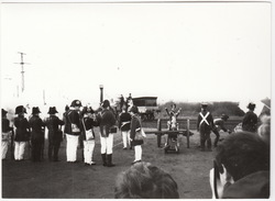 Re-enactment Völkerschlacht Mit Dampflokomotive  (Riesa ?) - Oorlog, Militair