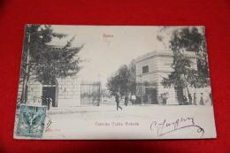Roma Militare Militaire La Caserma Castro Pretorio 1903 Animata + Timbro Pubblicitario Di Carlo Jurgens - Roma (Rome)