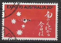 Australia 1970 20c (o) Perfin  F ?? - Perfins