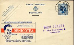 27768 BELGIUM, STATIONERY CARD PUBLIBEL Circuled, Denicotea, Nicotine, Drogue, Cigerettes - Drogue