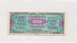 Billet France 50 Francs Série De 1944 Vendu En L'état - Zonder Classificatie