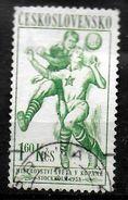 TCHECOSLOVAQUIE    N°  946  Oblitere    Cup 1958  Football Soccer Fussball - 1958 – Svezia