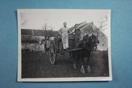 2 Photos (8,5 Cm X 11 Cm) De Vicq En Février 1943 - Lieux