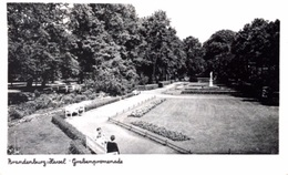 #& Brandenburg -  Grabenpromenade - Brandenburg