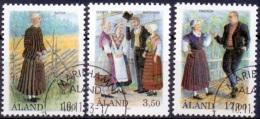 ALAND 1993 Nat.Kostuums GB-USED - Aland