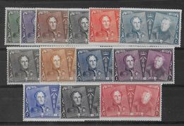 BELGIQUE - 1925 - COB N° 221/233 **/MNH - COTE = 275 EURO - Belgique