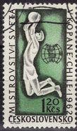 TCHECOSLOVAQUIE    N° 1198  Oblitere  Cup 1962  Football Soccer Fussball - Fußball-Weltmeisterschaft