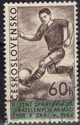 TCHECOSLOVAQUIE    N° 1228  Oblitere   Football Soccer Fussball - Soccer