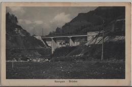 Rempen - Brücke - Kraftwerk Wäggital - SZ Schwyz