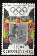 TCHECOSLOVAQUIE    N° 1635 Oblitere   Jo 1968  Football Soccer Fussball - Fussball