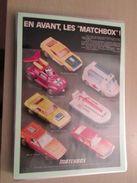 VOITURES MINIATURES MATCHBOX  -  Pour  Collectionneurs ... PUBLICITE  Page De Revue Des Années 70 Plastifiée Par Mes So - Catalogues