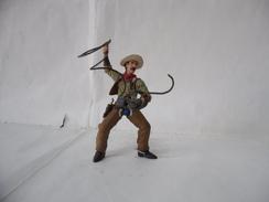 PAPO:COWBOY CON LAZO TOY FIGURE . - Figurines
