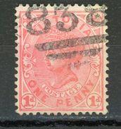 VICTORIA (GB) - SOUVERAINS - N° Yvert 128 Obli. - Gran Bretagna (vecchie Colonie E Protettorati)