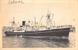CPA  PAQUEBOT BOAT SHIP COMPAGNIE DES MESSAGERIES MARITIMES LE NAVIRE DE CHARGE ANADYR COLMAR - Paquebots