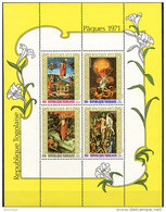 Togo, 1971, Easter, Paintings, Religion, MNH, Michel Block 55 - Togo (1960-...)