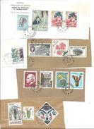 Lot De 15 Timbres Oblitérés Sur Fragment : MONACO (belle Cote !) - Collections, Lots & Series