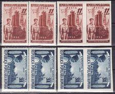 Romania 1951 Mi 1252-1253 A,B ,MNH** VF,paar - 1948-.... Républiques