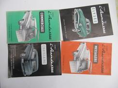 Automobiles SIMCA - Aronde 1300 - 4 Dépliants Des Différentes Versions - Cars
