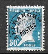 Préoblitéré N° 68 *  - Cote : 150 € - Preobliterati