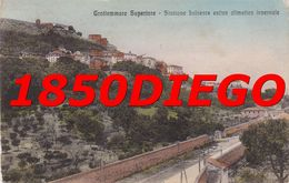 GROTTAMMARE SUPERIORE - STAZIONE BALNEARE F/PICCOLO VIAGGIATA ANIMATA - Ascoli Piceno