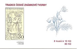 CZECH REPUBLIC, 2009, Booklet 133, Stamp Tradition, Mi MH 36 - Czech Republic